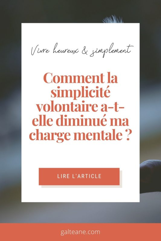 diminuer charge mentale